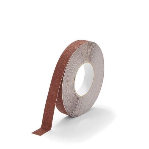 GripFactory Antislip Standaard Tape - rol 25 mm bruin - 3000004-BR