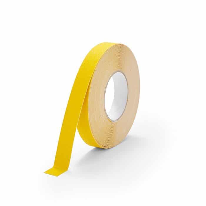GripFactory Antislip Standaard Tape - rol 25 mm geel - 3000004-YE