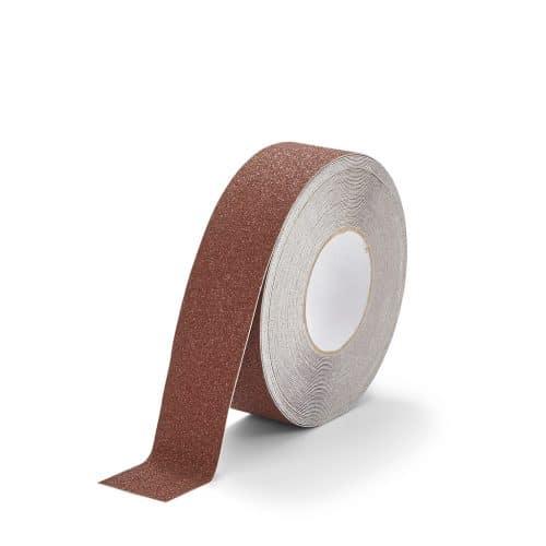 GripFactory Antislip Standaard Tape - rol 50 mm bruin - 3000005-BR
