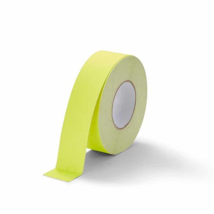 GripFactory Antislip Standaard Tape - rol 50 mm fluoriserend geel - 3000005-FY