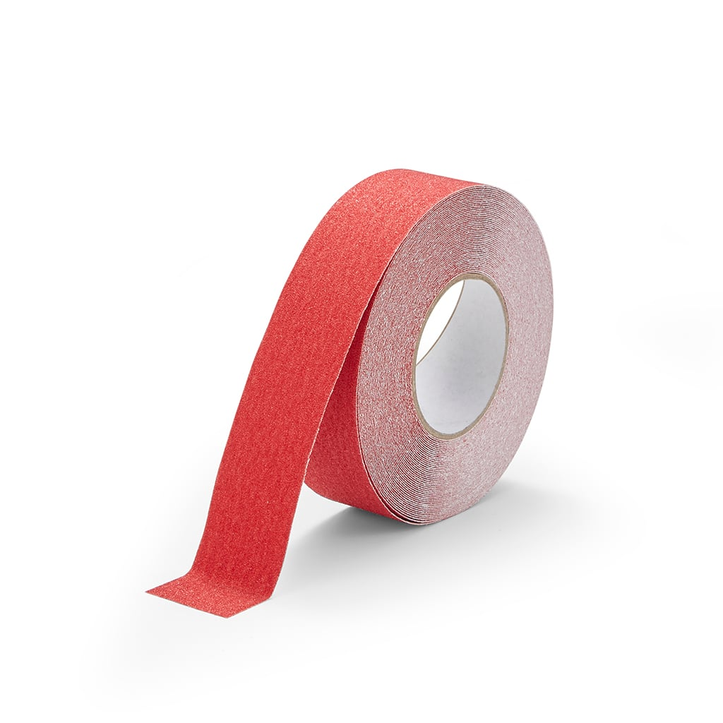 GripFactory Antislip Standaard Tape - rol 50 mm rood - 3000005-RE