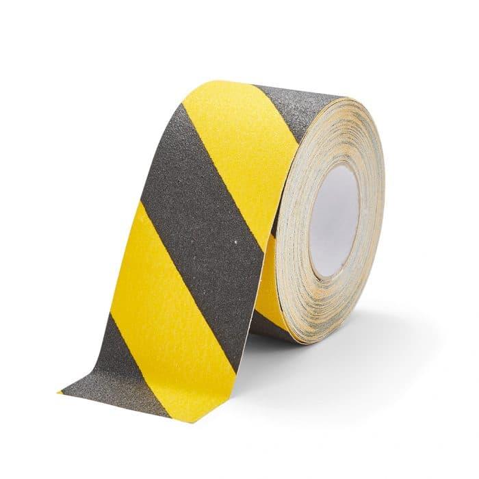 GripFactory Antislip Standaard Tape - rol 100 mm zwart/geel - 3000006-BY