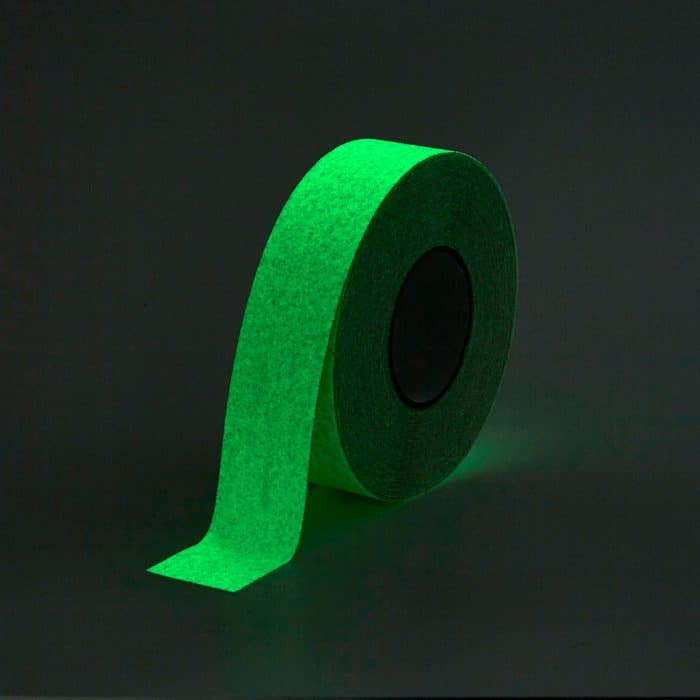 GripFactory Antislip Glow in the Dark Tape - rol 50 mm