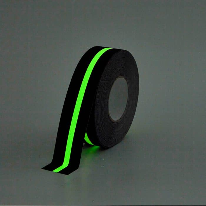 GripFactory Antislip Glow in the Dark Tape - rol strip 50 mm