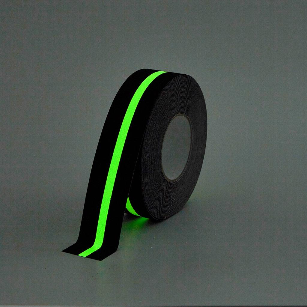 GripFactory Antislip Glow in the Dark Tape - rol strip 50 mm