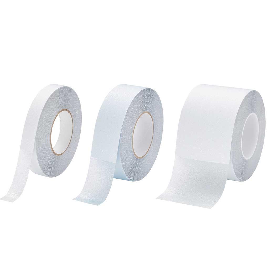 GripFactory Antislip Tape Aqua - rol 25/50/100 mm transparant