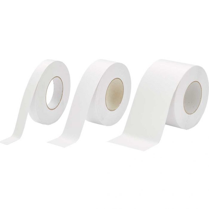 GripFactory Antislip Tape Aqua - rol 25/50/100 mm wit